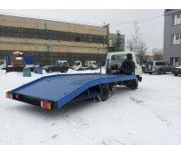 Ломаная эвакуаторная платформа на Hyundai