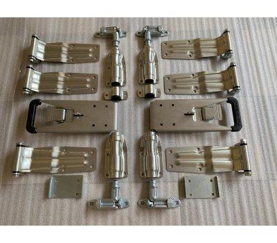 Комплект фурнитуры на задние  ворота фургона  с рукояткой Пуш усиленная  d-27